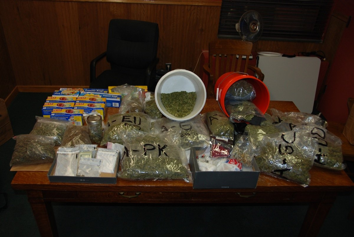 City police find over 12 pounds of marijuana and mushrooms