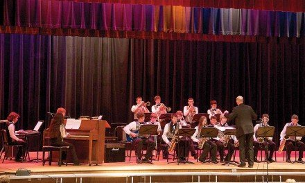 Mayfield jazz band earns another gold rating during February festival