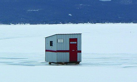 DEC: Ice fishing shanties should be off the lake