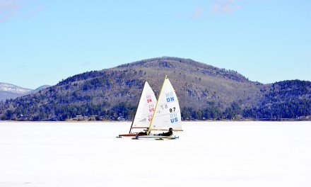 Smooth sailing, GSL the place for iceboating this past weekend
