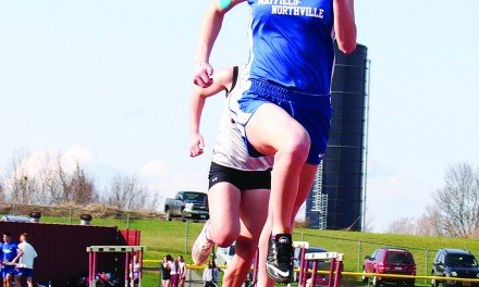 Mayfield-Northville track teams compete
