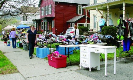 Northville's annual garage sale weekend is off and running