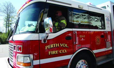 Ladies' auxiliary helps Perth fire company purchase gear