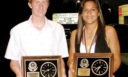 Briggs & Woodend are named top two Fulton County athletes
