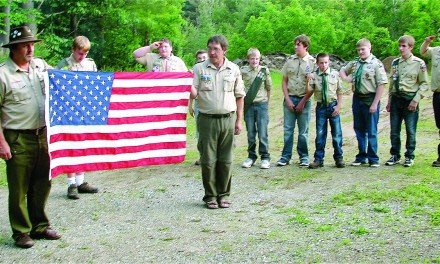Flag Day recognized with ceremony