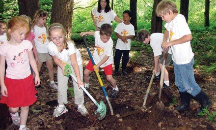 B-P Golden Dragons learn about the forest