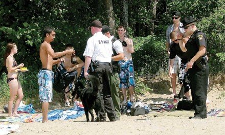 Police planning to crack down on underage drinking at lake