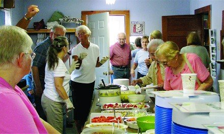 Annual Corn Harvest Supper and Smorgasbord Saturday