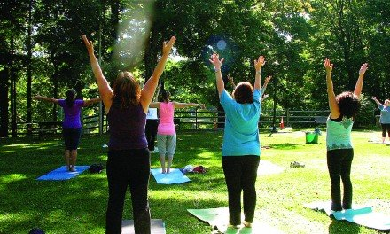 Yoga in the park will continue