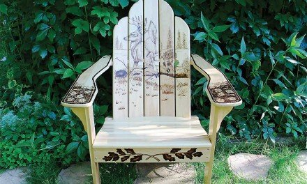 This week on the Adirondack Chairs and More Walking Tour