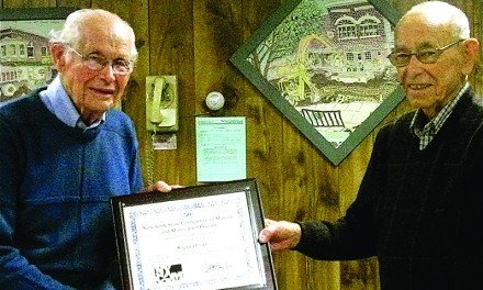 Roger Deuel recognized for 50 years of service