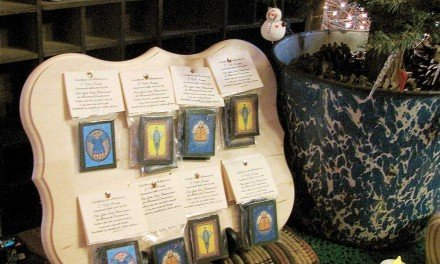 Folk-art inspired angels bring thousands for cancer research
