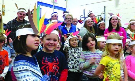 Northville Central School holds Thanksgiving feast