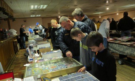 Annual sports card show going strong