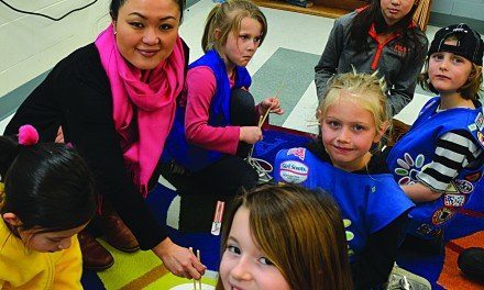 Girl Scouts host guest speaker from Japan