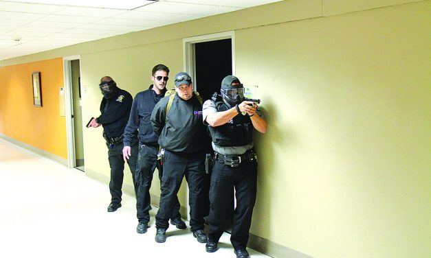 F-MCC practices protocol in active shooter drill