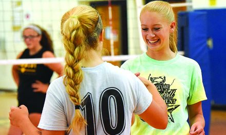 B-P volleyball team seeks return to state final four
