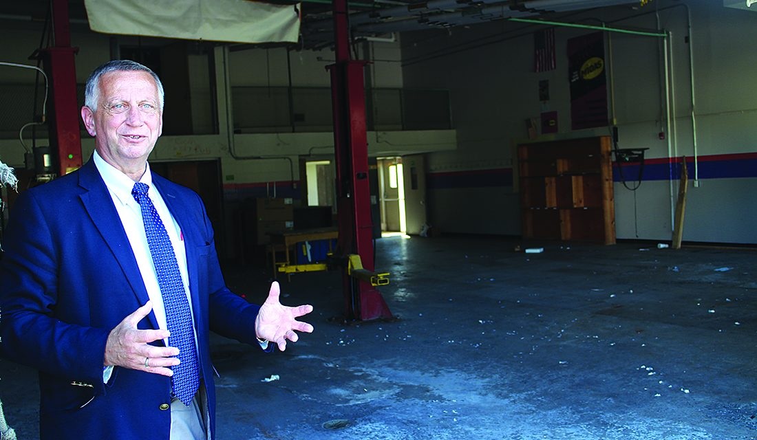 Open for business: County has started marketing Tryon Technology Park to potential employers