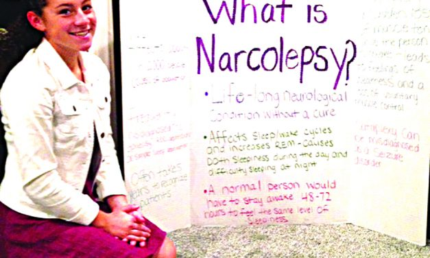 Sweet success: Mayfield teen raises over $1,000 to help fund narcolepsy research