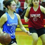 Mayfield relying on talented group to help replace Hampton