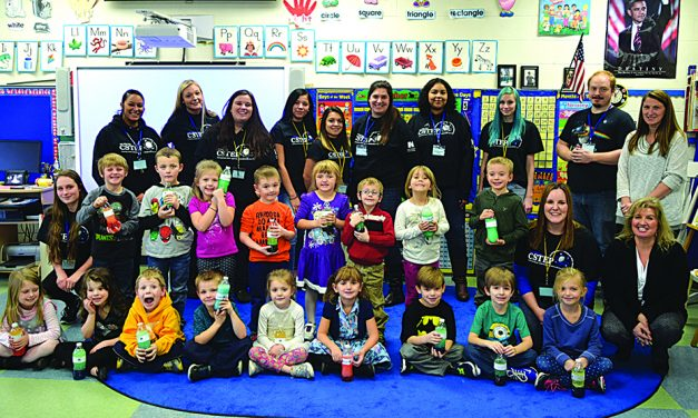 CSTEP hosts day of service at Mayfield Elementary