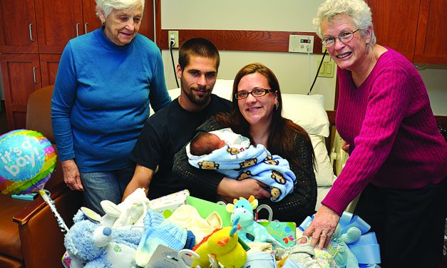 A special gift: Nathan Littauer Hospital and Nursing Home welcomes Littauer's first baby of 2017