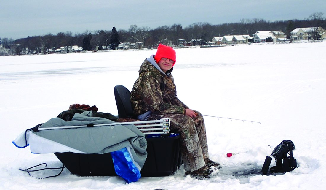 Early report from ice fishing