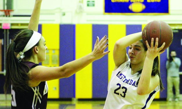Lady Dragons stymied by Amsterdam's defense,78-58