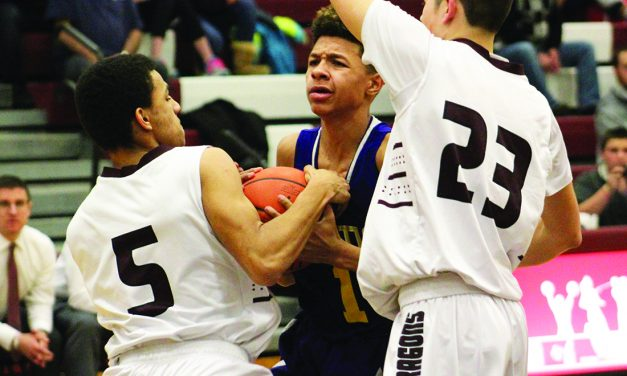 Gloversville Dragons burned by visiting Rams, 76-47