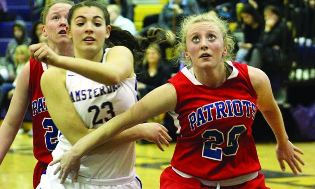 Lady Patriots struggle on the road against Amsterdam