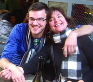 Photo submitted Christian Joseph Rohr and his mother, the Rev. Laurie Garramone of Johnstown.