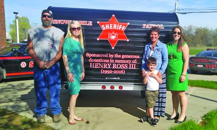 Henry, Maria Ross donate snowmobiles to Fulton County sheriff