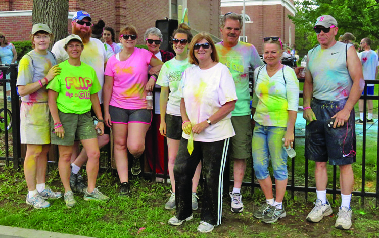 NCSD hosts MaryElizabeth Habla Color Run in honor of former teacher