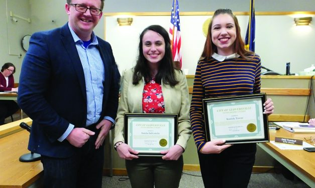 Two Gloversville High School seniors honored by city