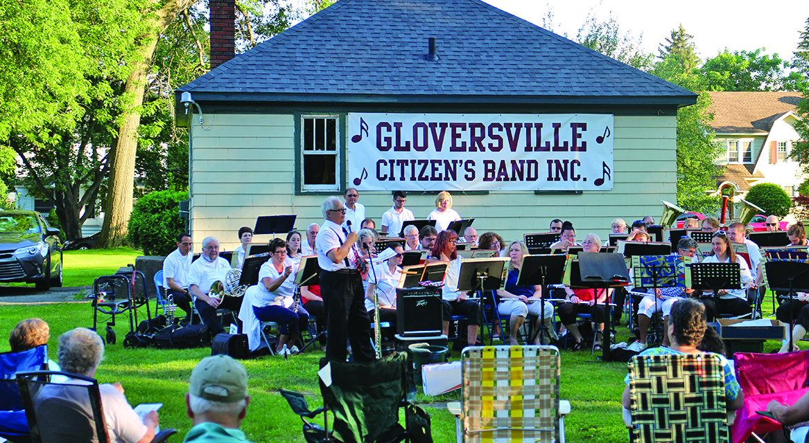 Gloversville Citizens Band kicks off free concert season