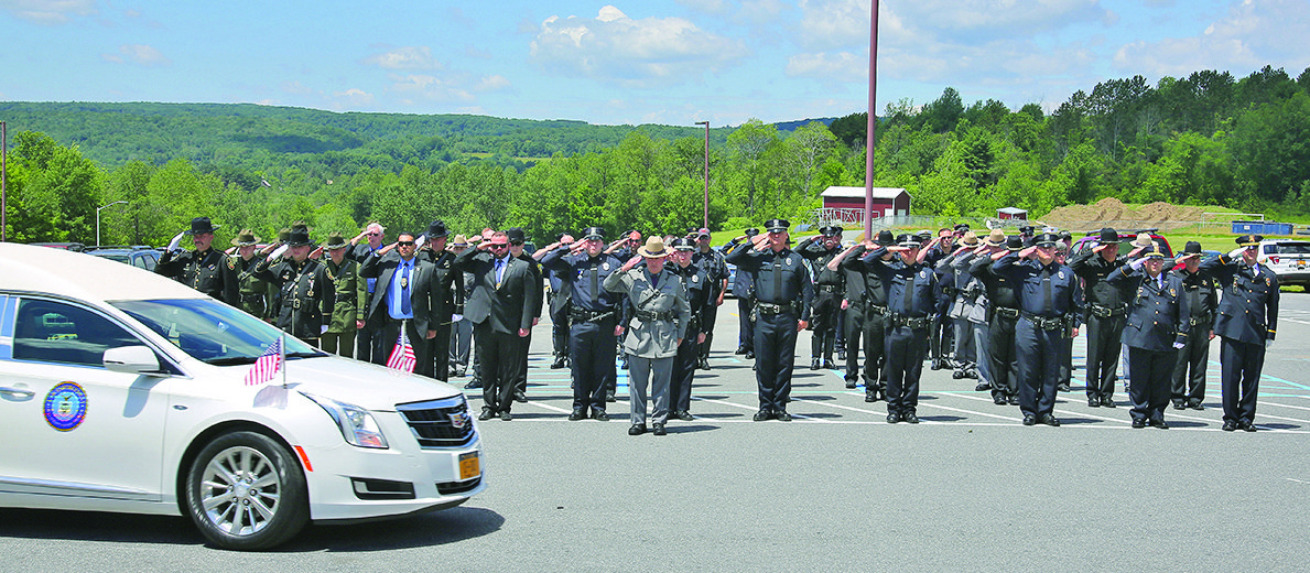 Northville officer Johnson remembered during funeral services
