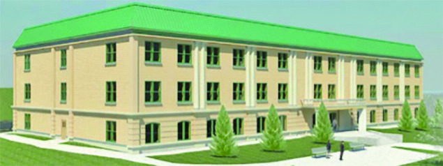 Photo submitted An artist rendition of the Estee Senior Apartments.