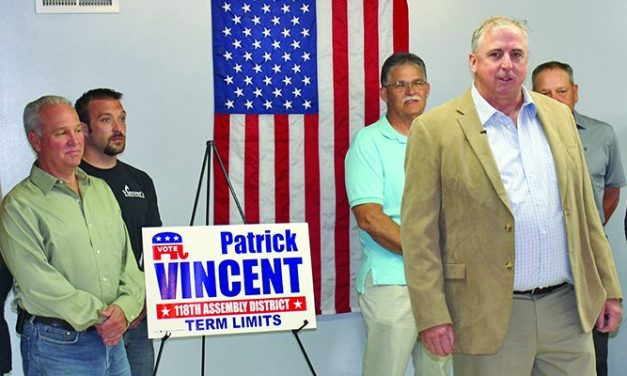 Regional businessman Patrick Vincent announces candidacy for state Assembly