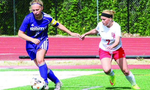 Amsterdam rallies to top B-P, 5-3, in girls soccer