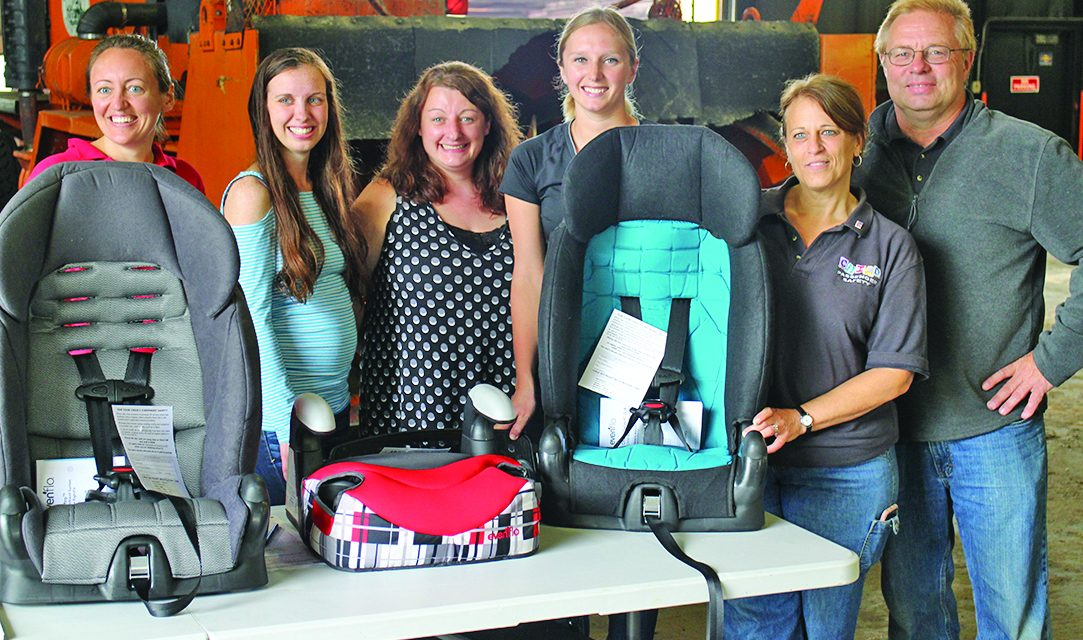 Better safe than sorry: County holds child car seat check