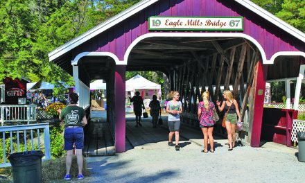Eagle Mills craft fair wraps up