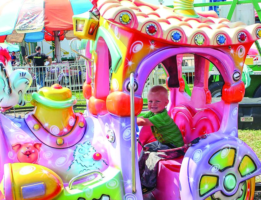 Locals enjoy a day at the Fonda Fair