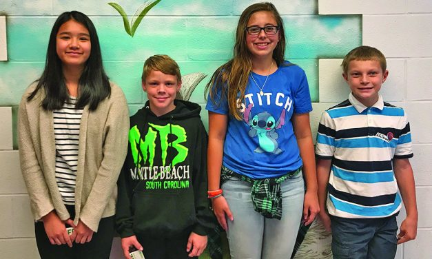 B-P middle school names students of the month